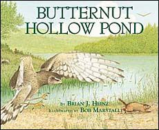 Food Chains for Kids -- Best Picture Books for K-Gr.4    Butternut   Hollow Pond   (interconnectedness & food   chains in a pond habitat)  by Brian Heinz   2nd grade - 4th grade