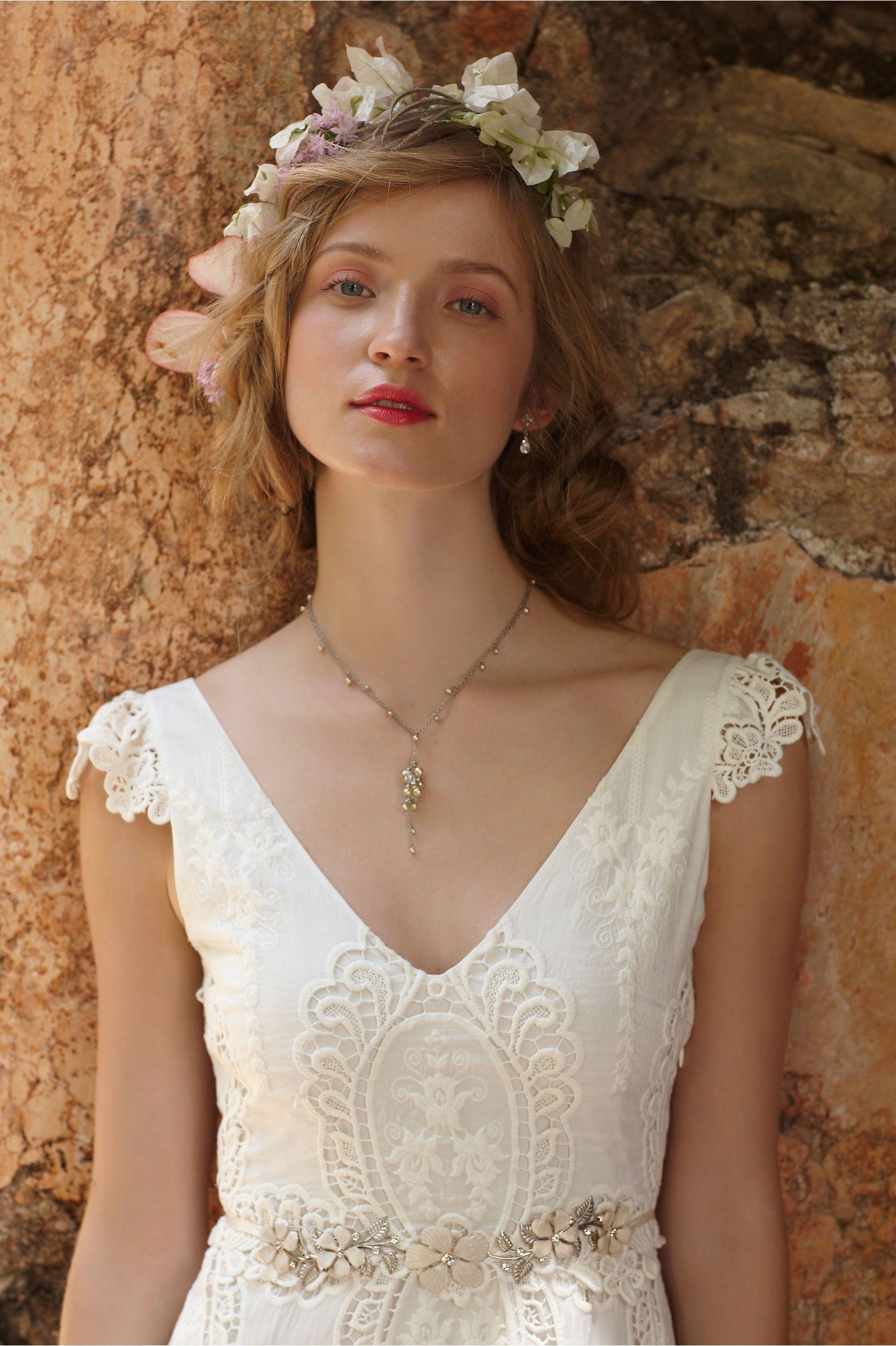 Muscat necklace from bhldn weddings pinterest wedding dresses