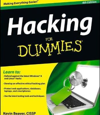 Hacking For Dummies (4th Edition) PDF | for dummies