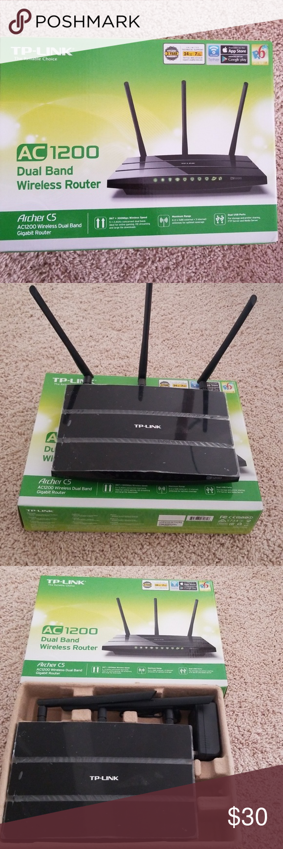 Tp Link Archer Ac1200 Smart Wifi Router Dual Band Wifi Router Tp Link Smart Wifi