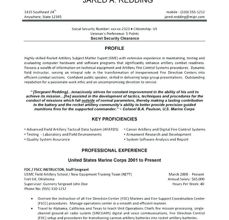 military veteran resume examples military to civilian resume ...