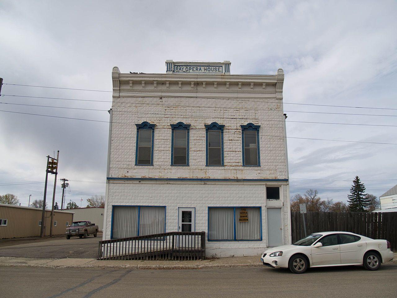 Ray Opera House in Williams County, North Dakota.