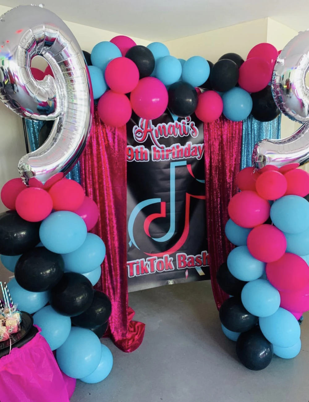 1 Tik Tok Backdrop Personalized Step Repeat Designed Printed Ship Banners Birthday Party For Teens 12th Birthday Party Ideas Birthday Surprise Party