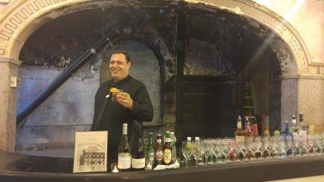 Our bartender serving up old fashioned cocktails!