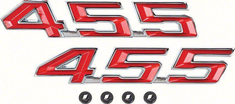 Oer R5246 1967 1969 Pontiac Firebird 455 Hood Emblem Set Gto Pontiac Firebird Firebird Pontiac