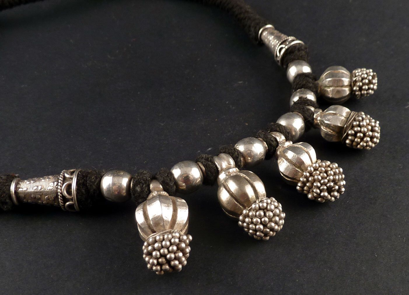 Heavy rajasthan silver old pendants necklace old indian jewelry heavy rajasthan silver old pendants necklace old indian jewelry necklace from india ethnic mozeypictures Gallery