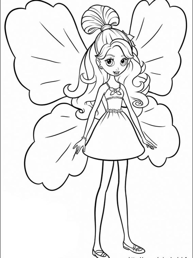 Barbie Dress Coloring Pages You Can Ask All Girls In The World Who Doesn T Know Barbie The Cartoon Coloring Pages Barbie Coloring Pages Fairy Coloring Pages