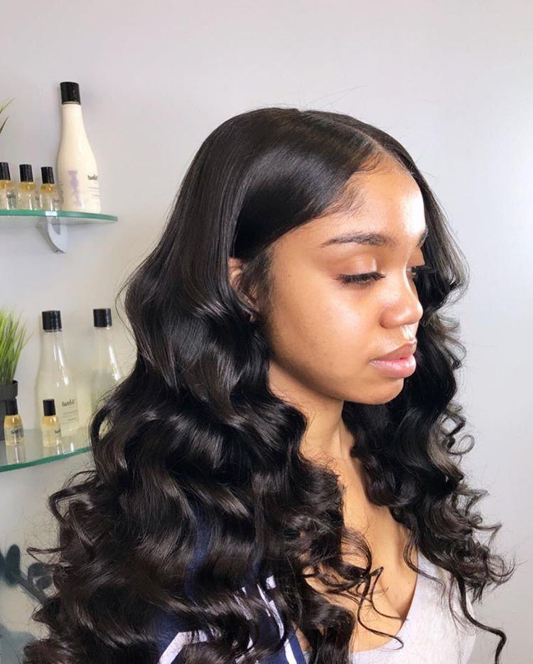 Pinterest Slimeyszn Loose Waves Hair Loose Hairstyles Natural Hair Styles