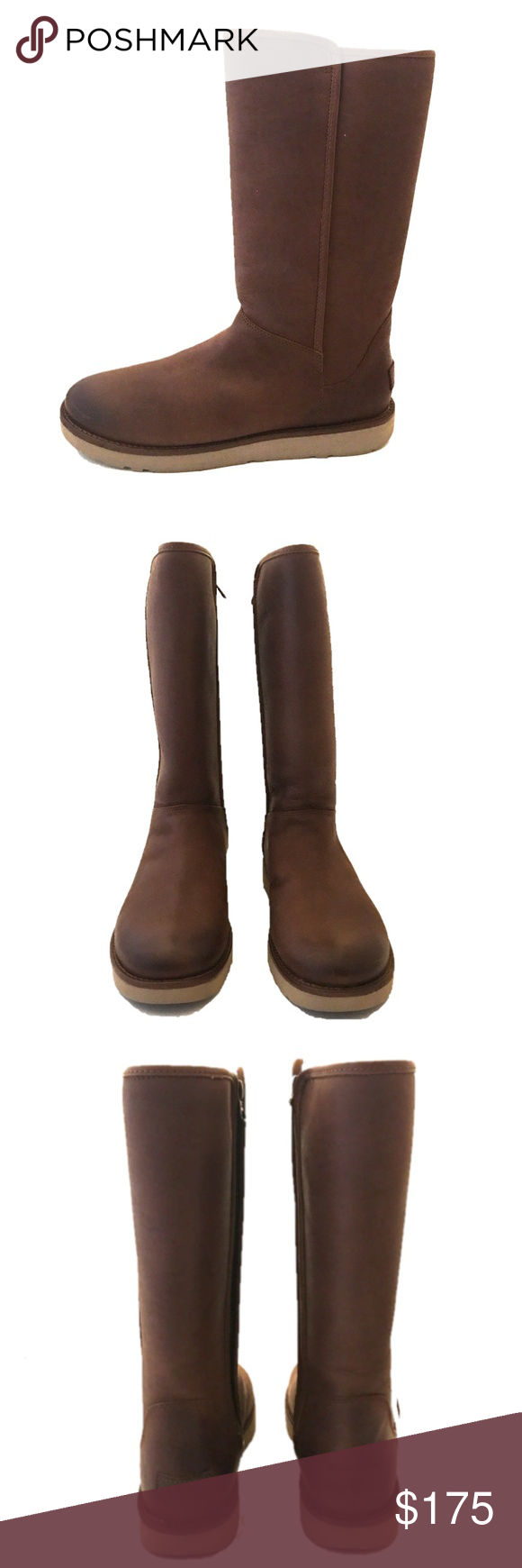 9ab31cd864f UGG Abree II Leather Boot - NWOB 100% AUTHENTIC! Rich leather is ...