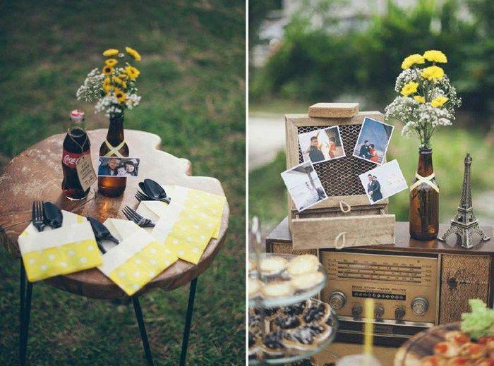 A yellow country vintage wedding at lotta caf muar muar and a yellow country vintage wedding at lotta caf muar junglespirit Choice Image
