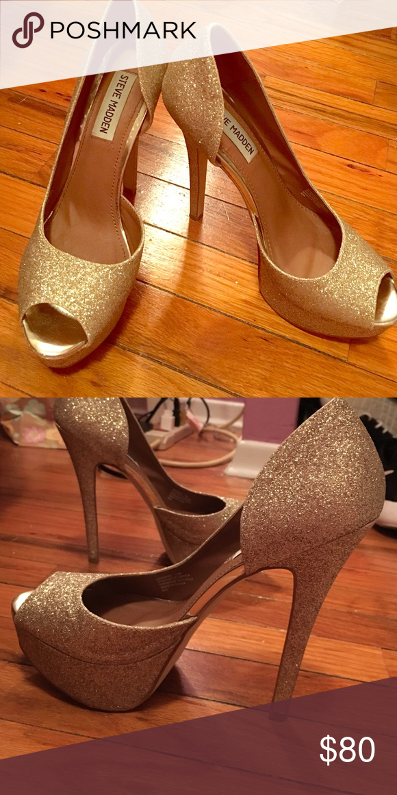 d864300309d ️SALE TAKE ADVANTAGE‼️Steve Madden heels These Steve Madden heels are  perfect for a formal event! They were only worn once for a prom and are in  perfect ...
