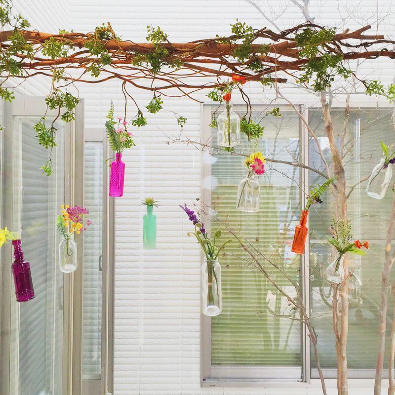フェイクグリーンで春の玄関♪|LIMIA (リミア)