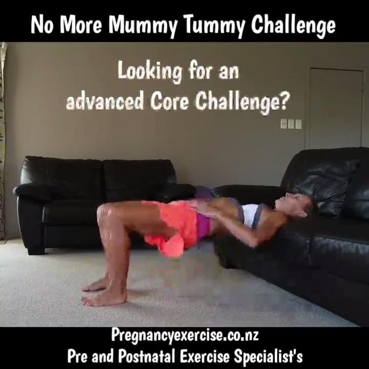 Fit Mum No Crunch Core Workout