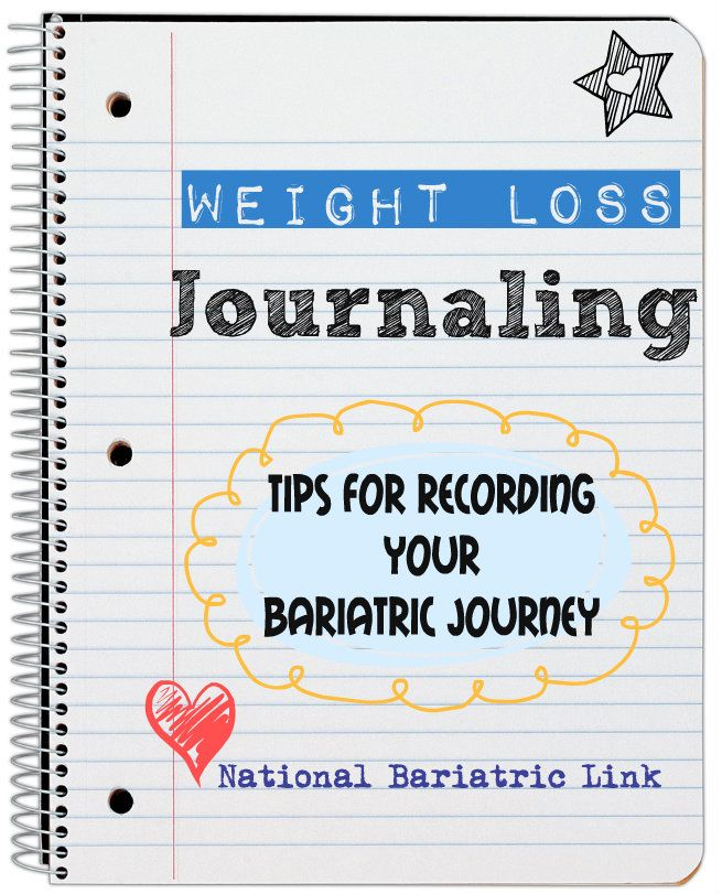 How To Do A Weight Loss Journal After Bariatric Surgery Lap Band