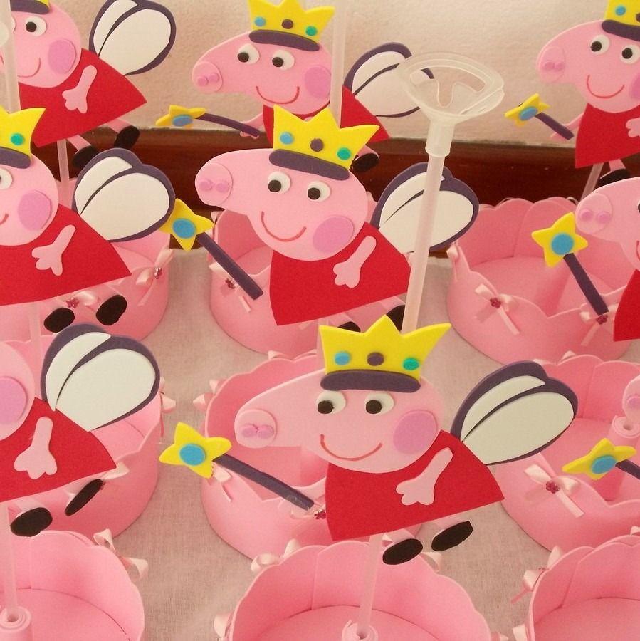 Centros De Mesa Peppa Pig En Goma Eva | peppa pig fiesta ...