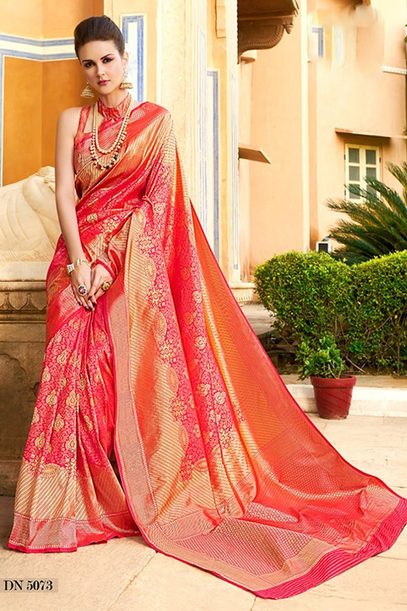 f14c096afb Wholesale Indian Sarees | Wholesale Indian Festive Wear Silk Weaved Saree  With Blouse Piece Collection