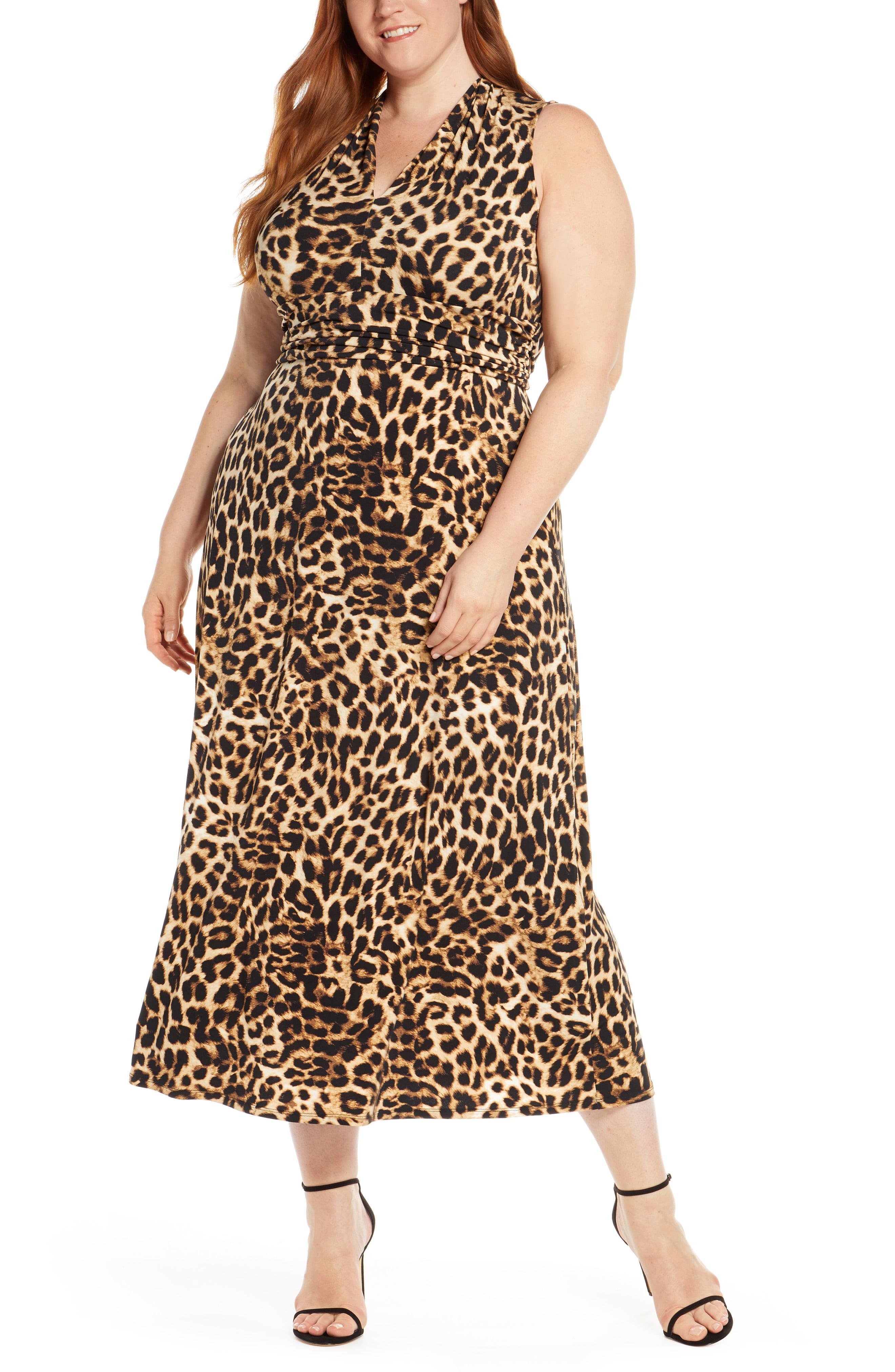 halterneck klänning plus size