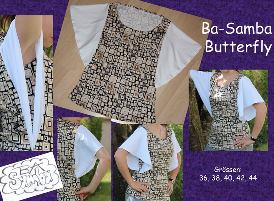 Butterfly - ba-sambas website! free pattern | Sewing | Pinterest ...