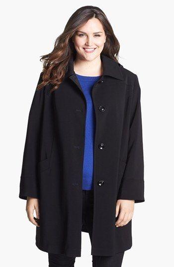 Gallery 'Napage' Raincoat (Plus Size). #fashion #women #raincoat #plus size fashion for women