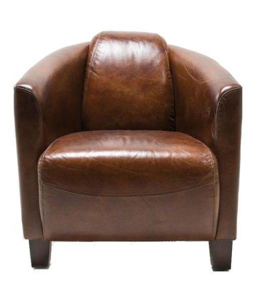 Armchair Cigar Lounge Brown