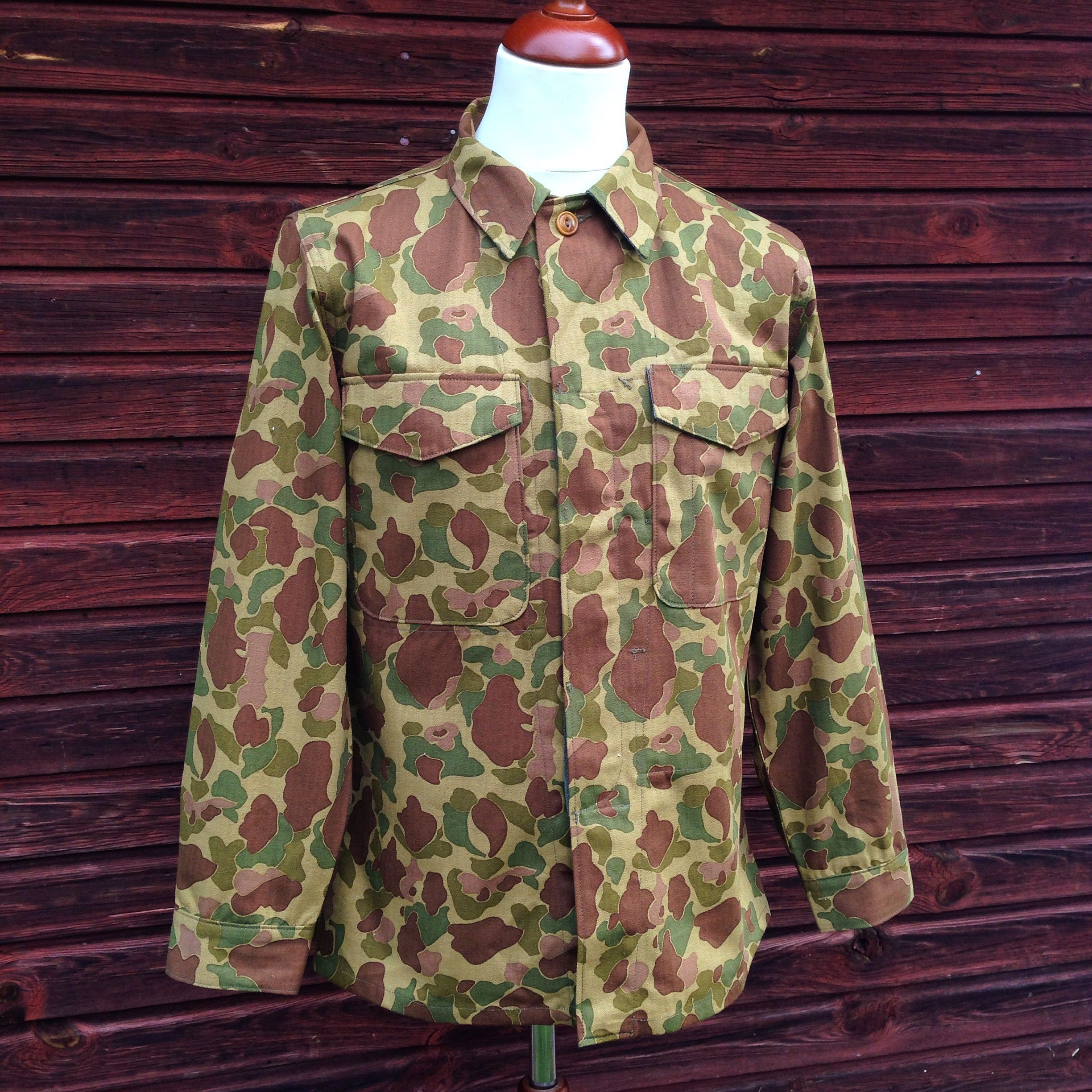 Mister Freedom Map Shirt Frog Skin Camo Hbt Made In Japan Jeans
