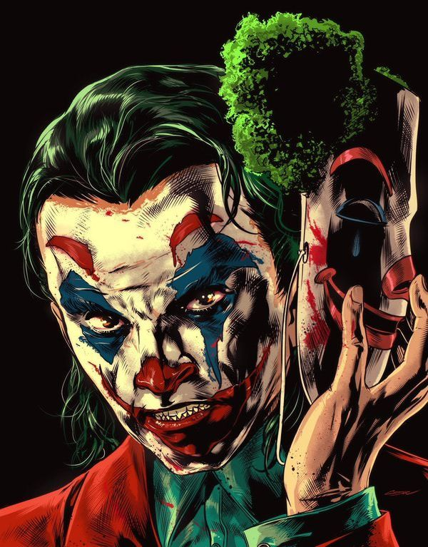 Found on Bing from DC Comics Joker art
