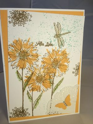 Stampin Mit Scraproomboom Floral Cards Cards Handmade Flower Cards