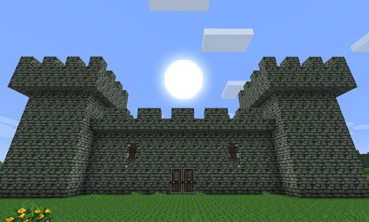 Simple Minecraft Castles Trendminicraft Minecraft Castle