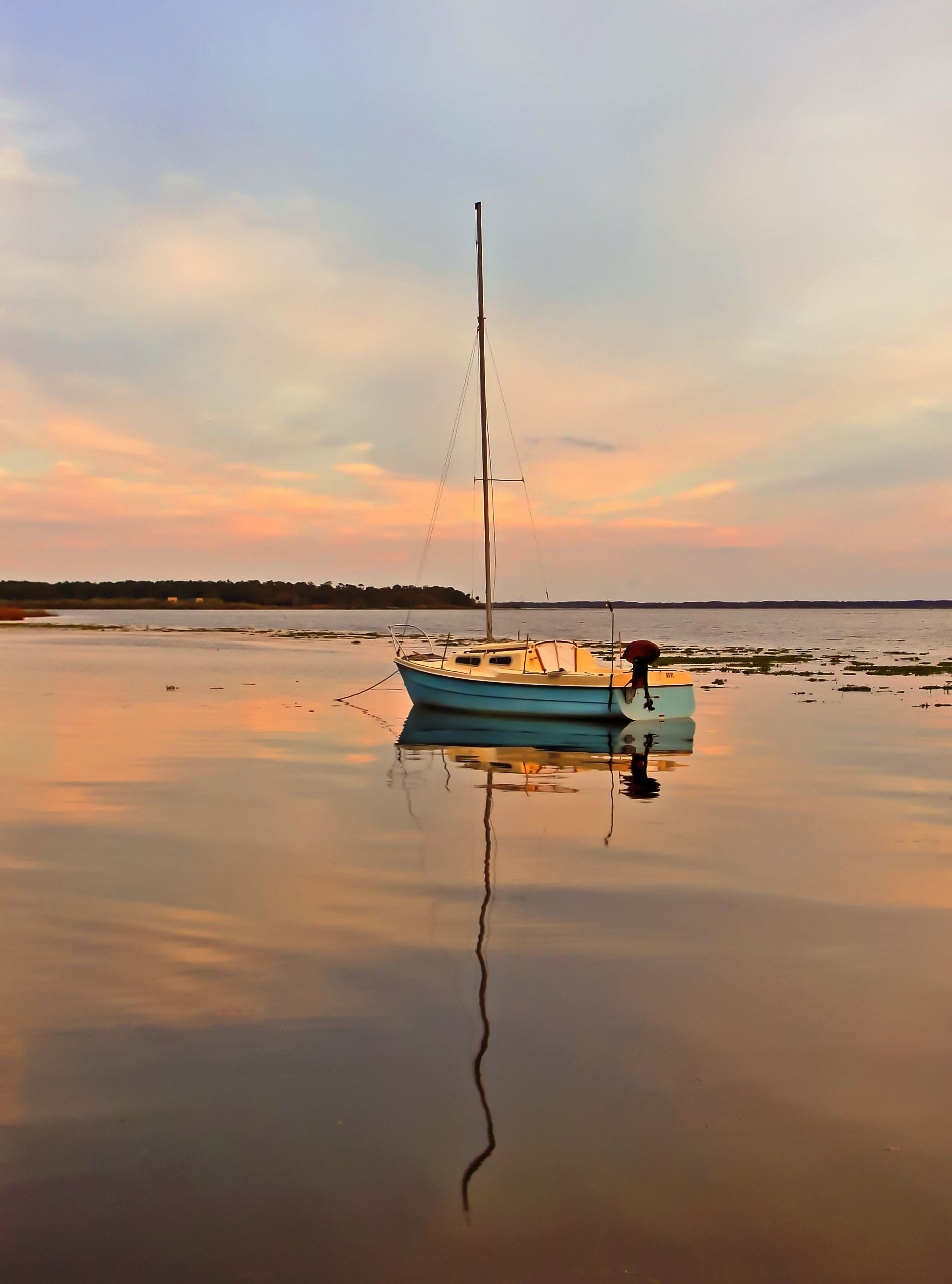 Magic Time Sail Boats Photography Beach Scenes Photo Moon boat sunset sail evening lake