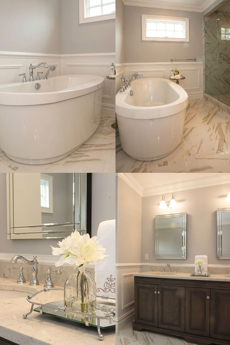 Absolutely Gorgeous Master Bathroom In 2020 Beautiful Bathrooms Home Home Remodeling