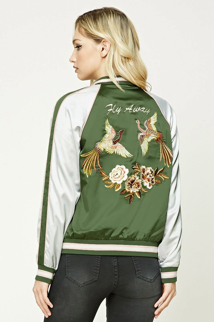 Contemporary Graphic Bomber Satin Bomber Jacket Bomber Jacket Grunge Outfits [ 1125 x 750 Pixel ]
