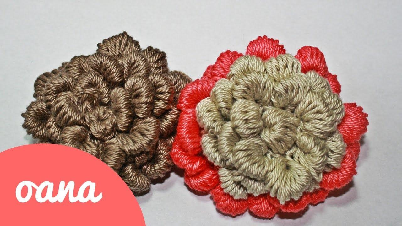 Crochet 3D Rose | Pinterest