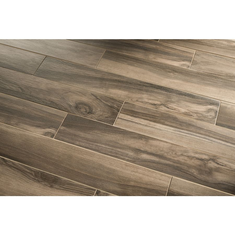 Shop Gbi Tile Amp Stone Inc Kaden Walnut Glazed Porcelain