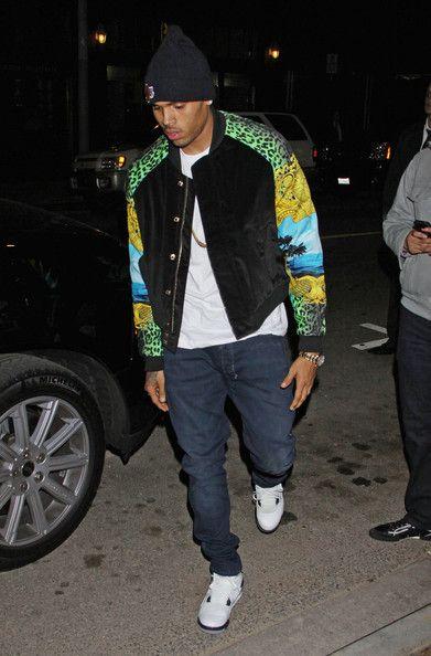 Chris Brown Bomber Jacket | Chris brown, Chris brown style and Celebs