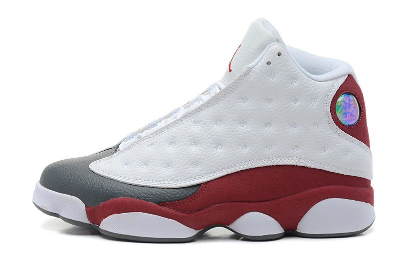 official photos 49035 d21ef Air Jordan 13 Retro White/Burgundy | Air jordan 13 | Nike ...