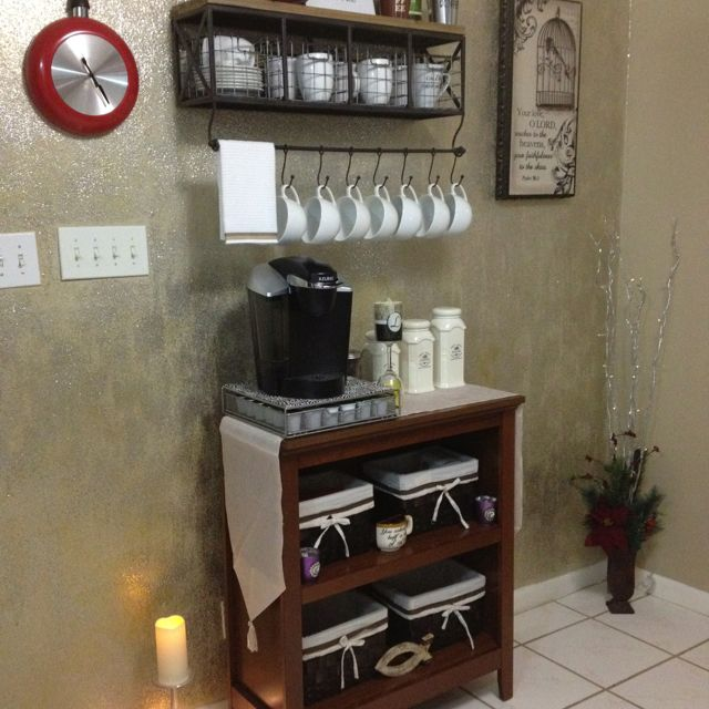 Create A Perfect Home Or Office Coffee Station. Great Addition To Your Coffee  Station Helps