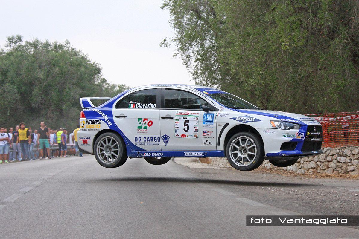 Francesco Laganà - Emanuele Clavarino, Evo X Rally Car | Evo X ...