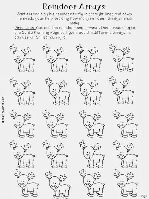Division: Reindeer Remainder- a festive division unit