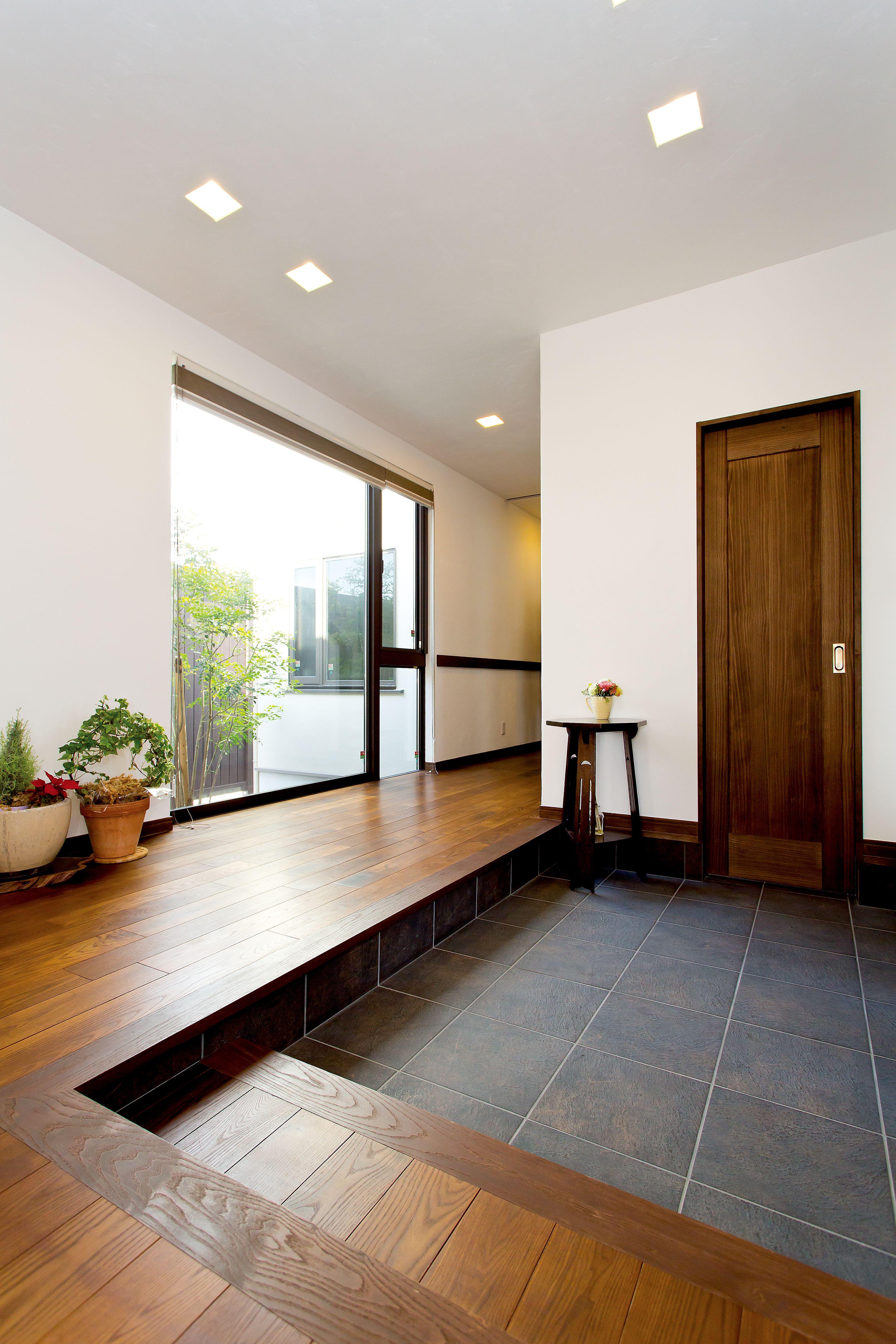 ケース37 玄関 リフォーム 玄関 オシャレ 玄関 内装