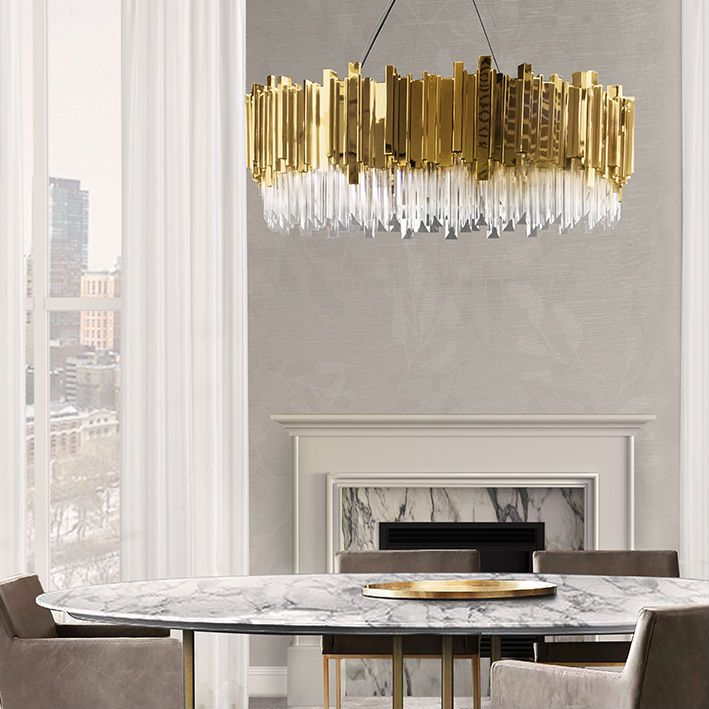 Dining Room Trends 2019 Dos And Don Ts For A Spectacular: Design Trends For 2019 #10: Mellow Color Metallics