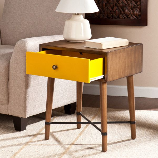 Love This Yellow Norwich Accent Table By Southern Enterprises On