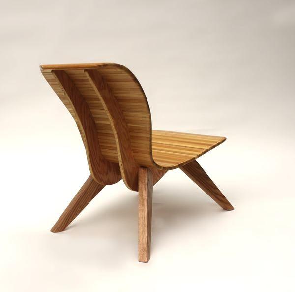 Sessel Holz Leder Ideen Pinterest