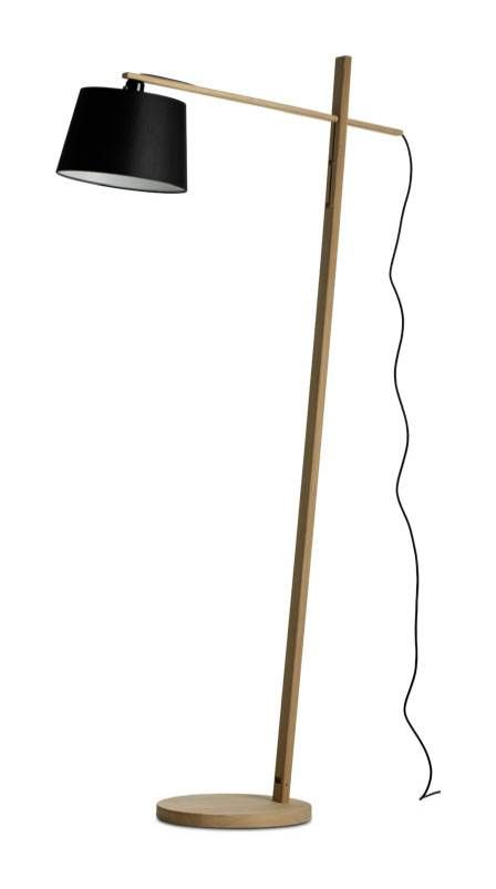 The boconcept woody floor lamp in oak available at boconcept houston
