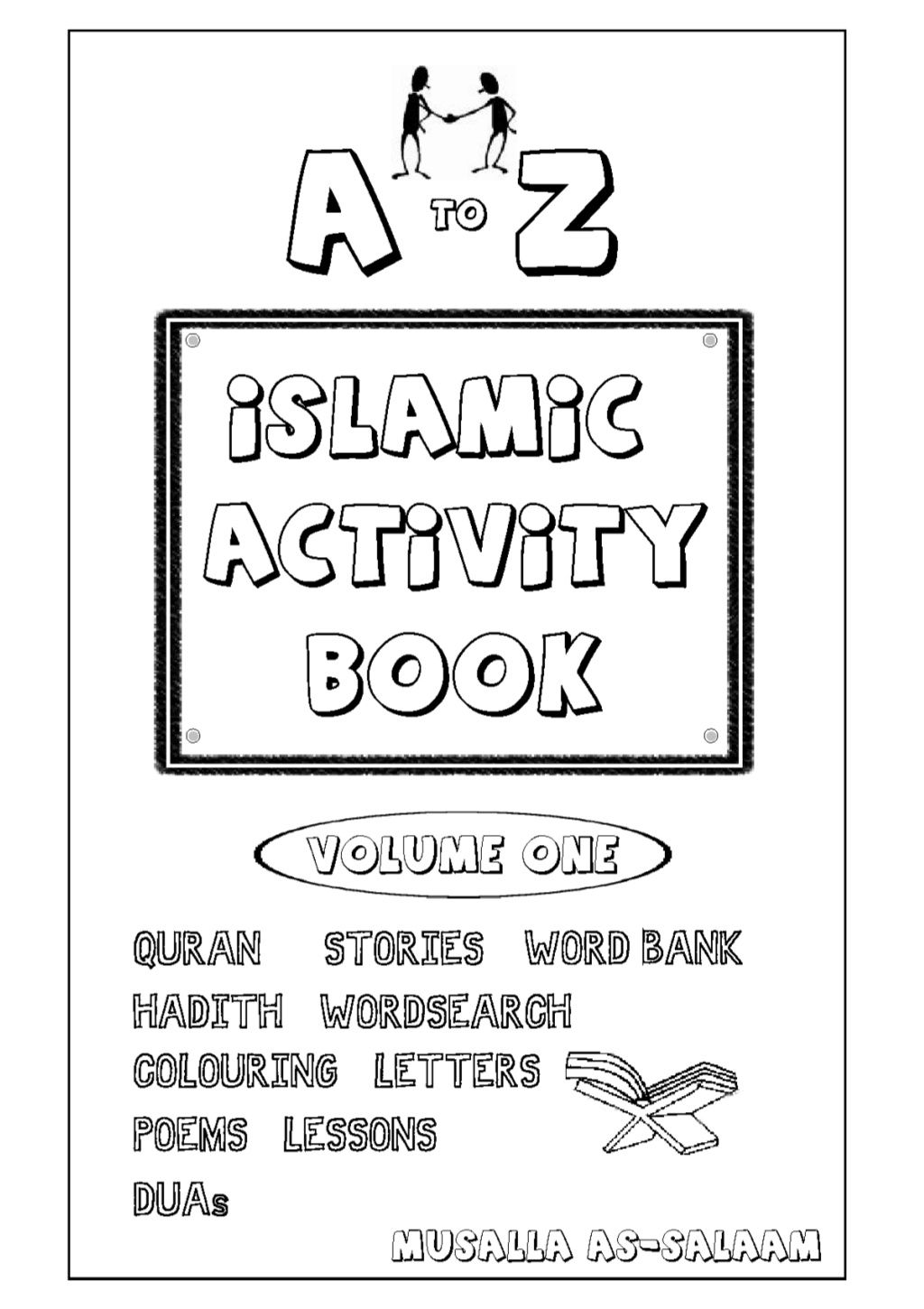 Islamic Activity Book For Kids Full Vol 1 Amp 2 Combined