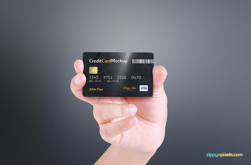 Free Credit Card Mockup Zippypixels Free Credit Card Secure Credit Card Credit Card Design