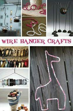 Pin By Andrea Jewett On Diy Wire Hanger Crafts Hanger Crafts
