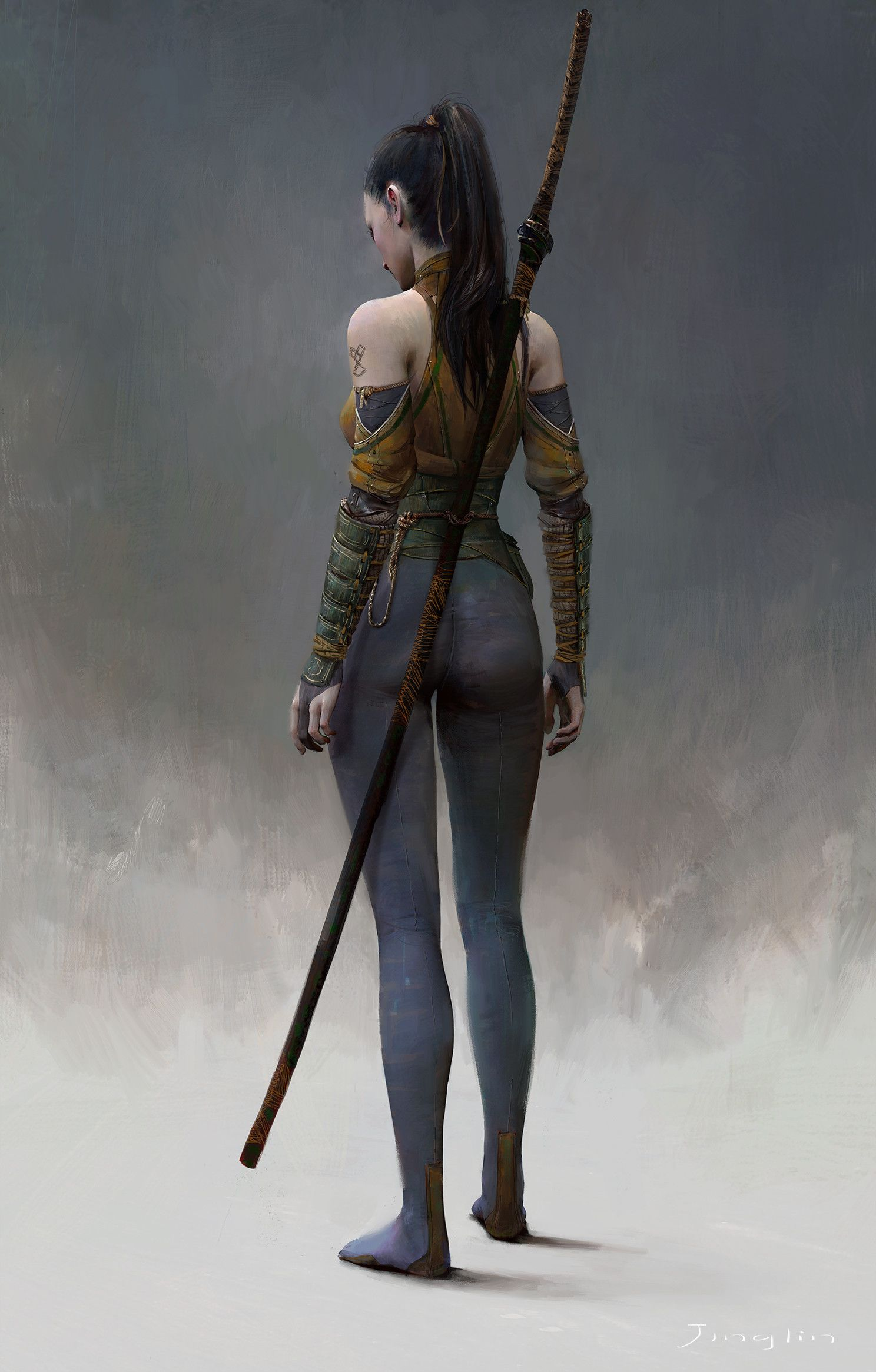 Character Design Art Station : Artstation jinglin xu female warriors
