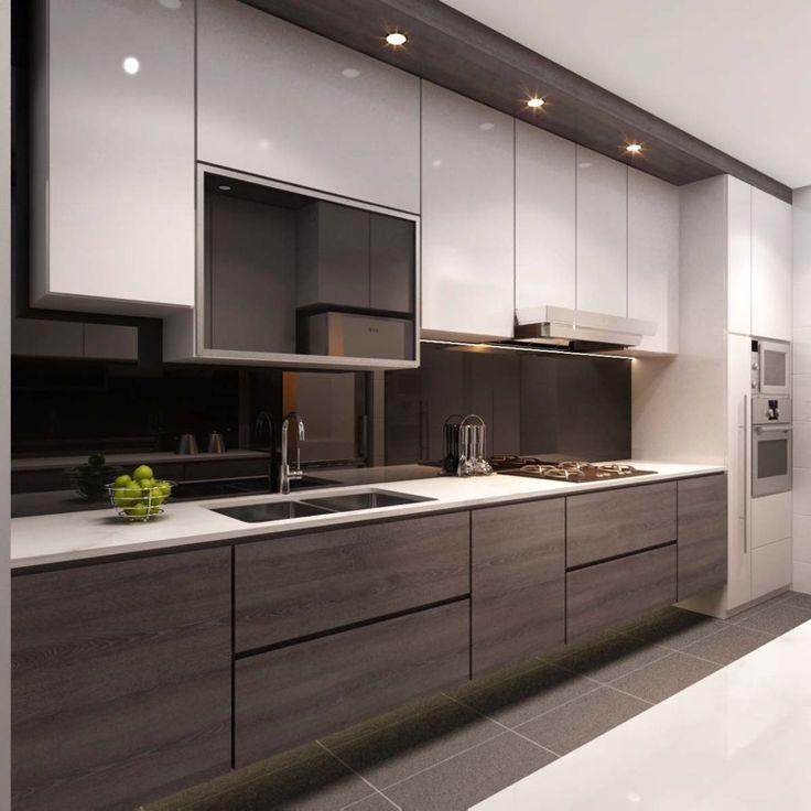 singapore interior design kitchen modern classic kitchen partial ...