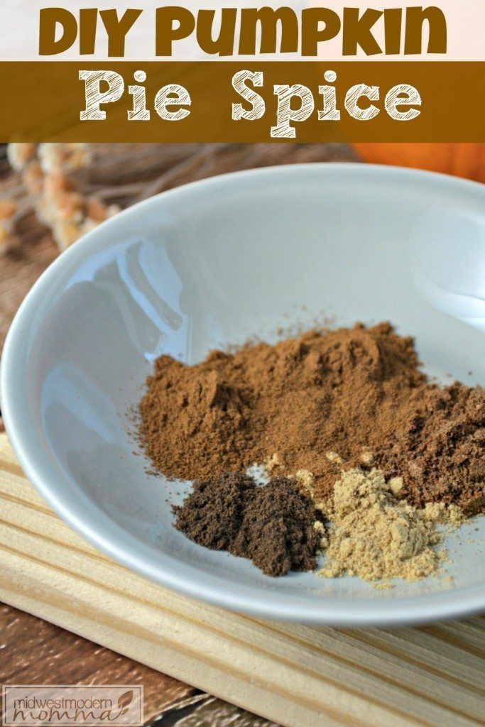 Homemade Pumpkin Pie Spice Blend Recipe Pumpkin pie