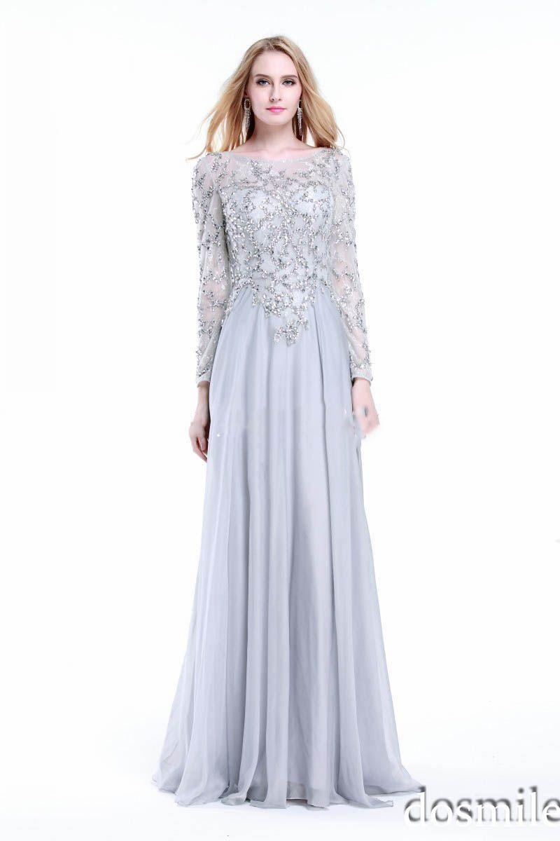 Schicken Mehr Abendkleider Information über Silber Elegante ...